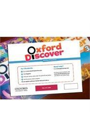 OXFORD DISCOVER ONLINE PRACTICE ACCESS CARD PACK