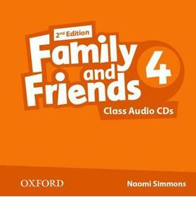 FAMILY & FRIENDS 4 2ND ED CDs