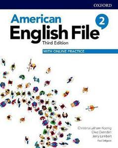 AMERICAN ENGLISH FILE 3RD 2 ST/BK (+ONLINE PRACTICE)