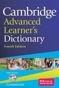 CAMBRIDGE ADVANCED LEARNER'S DICTIONARY (BK+CD-ROM) 4TH EDITION