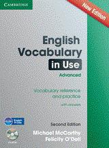 ENGLISH VOCABULARY IN USE ADVANCED W/ANSWERS (+CD-ROM) 2ND ED 2014