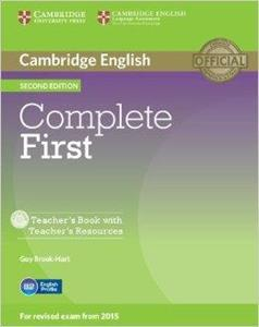 COMPLETE FIRST FCE 2ND TCHR'S (+CD-ROM)