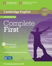 COMPLETE FIRST FCE 2ND WKBK W/ANSWERS (+CD)