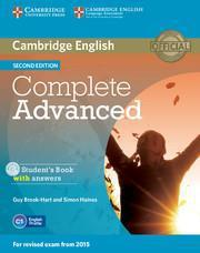 COMPLETE CAE 2ND ST/BK W/ANSWERS (+CD-ROM)