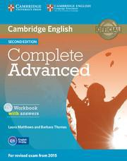COMPLETE CAE 2ND WKBK W/ANSWERS (+CD)