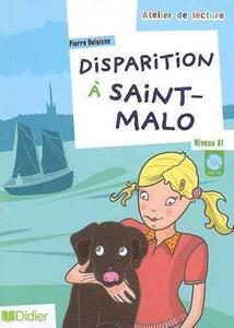 DISPARITION A SAINT-MALO NIVEAU A1 (+CD)