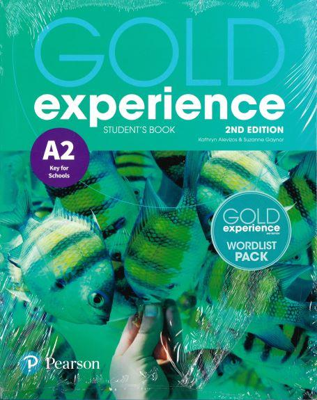 GOLD EXPERIENCE 2ND ED A2 ST/BK PACK (+WORDLIST)