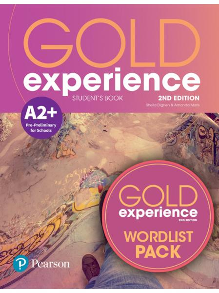 GOLD EXPERIENCE 2ND ED A2+ ST/BK PACK (+WORDLIST)